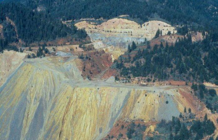 Экстремальное место: шахта «Железная гора».