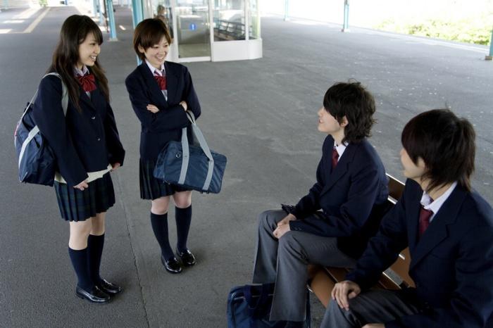 Японская школьная форма.