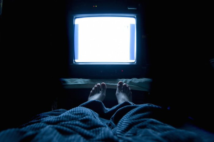 Сон и телевизор.