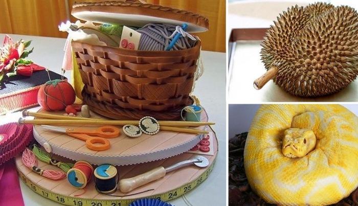 Самые необычные тортики.