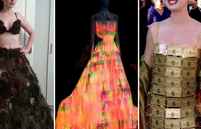 Самые невероятные платья.
