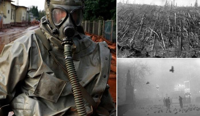Токсическое затопление красным шламом в Венгрии.