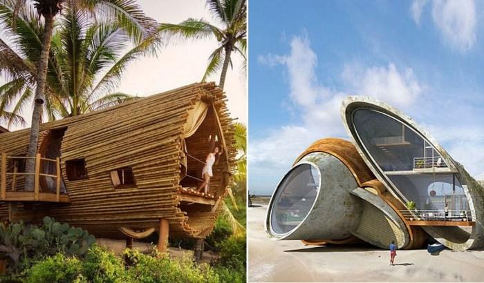 10 архитектурных проектов домов, в которых люди будут жить в недалёком будущем.