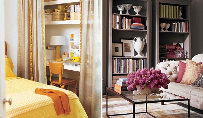 14 идей, которые помогут «раздвинуть» стены в маленькой комнате.