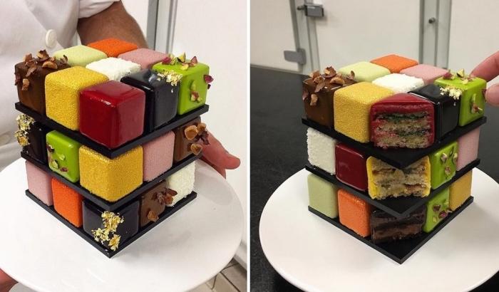 Единственный в мире торт, в котором сразу 18 разных вкусов