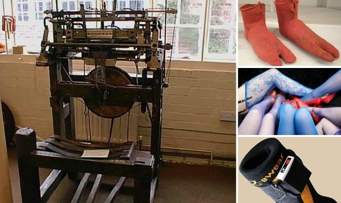 Из истории носков: от древних египтян и до наших дней.