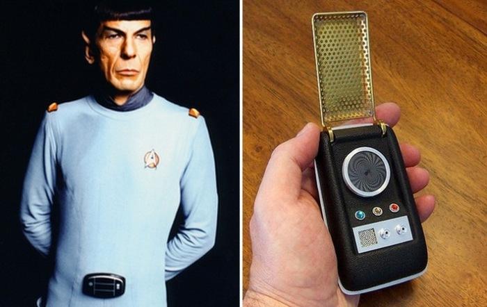 Предсказано кинематографом: мобильные телефоны/смартчасы.