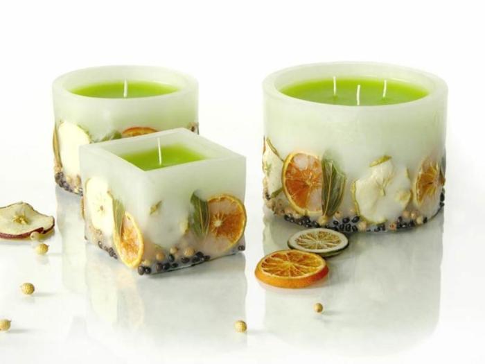Ватные палочки для очаровательных свечей.