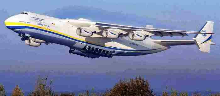 Самолет Ан-225 «Мрия».