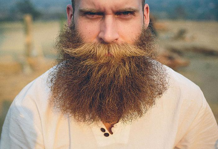 Бородатый - не значит страшный.