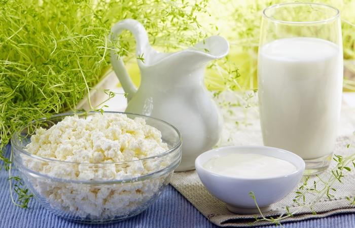Группа продуктов питания «Стоит включить в рацион». Молочные продукты.