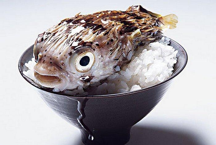 Суши из фугу