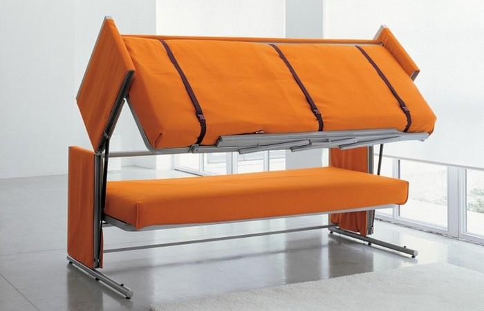 Мебель-трансформер: двухъярусный диван-кровать «Doc».
