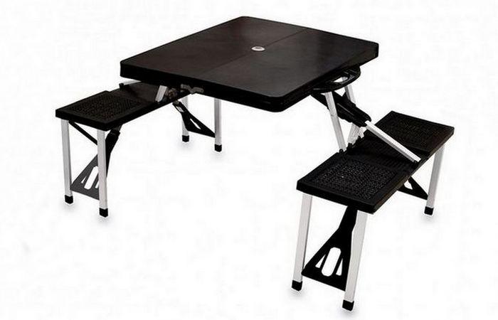 Мебель-трансформер: складной стол для пикника из ABS-пластика.