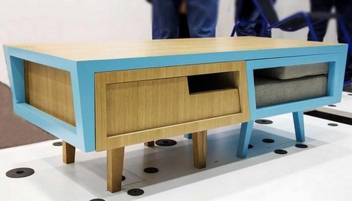 Мебель-трансформер: журнальный столик «Daniel Pearlman».