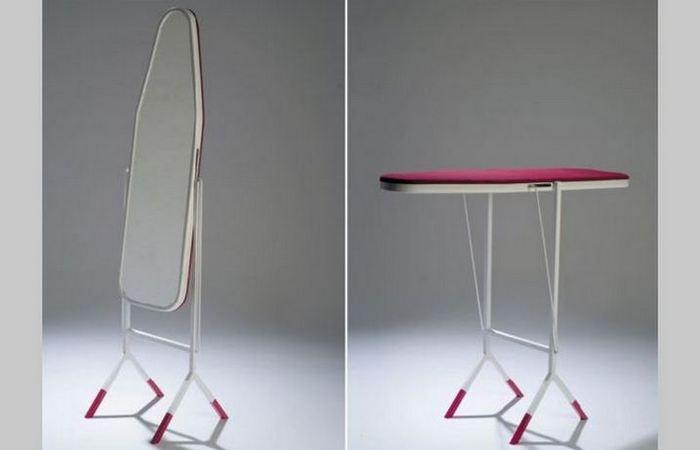 Мебель-трансформер: гладильная доска - зеркало «Dynamics».