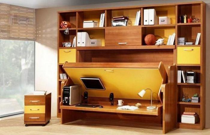 Мебель-трансформер - это удобно и практично.