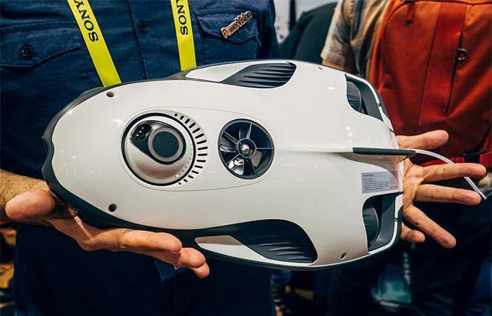 Подводный дрон PowerRay от PowerVision.