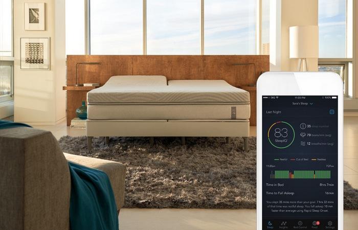 360 smart — умная кровать от Sleep Number.