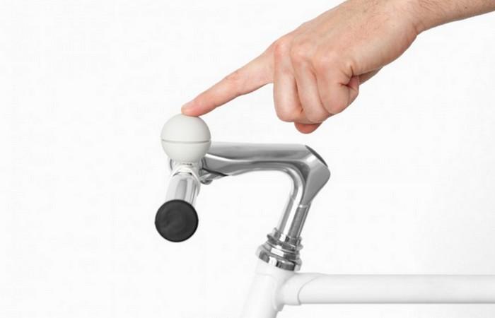 Магнитный велосипедный звонок Nello.