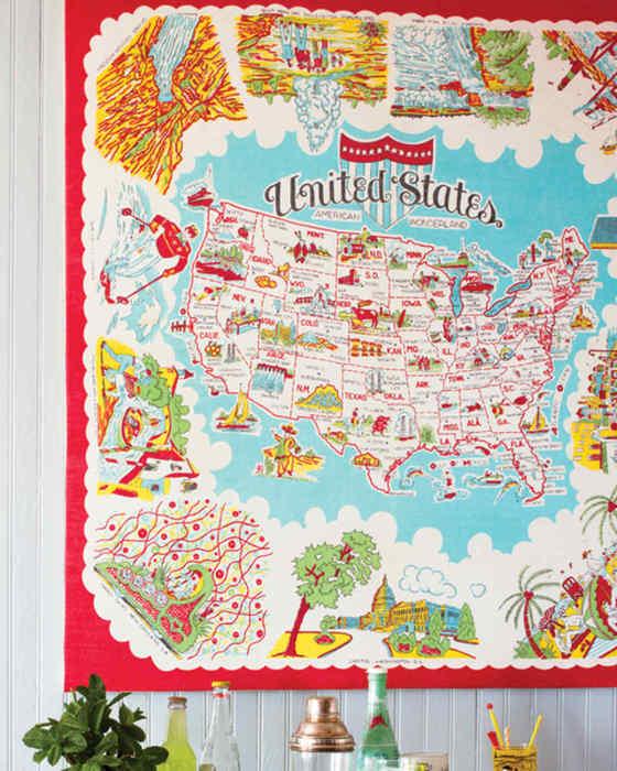 Карта уместна везде.