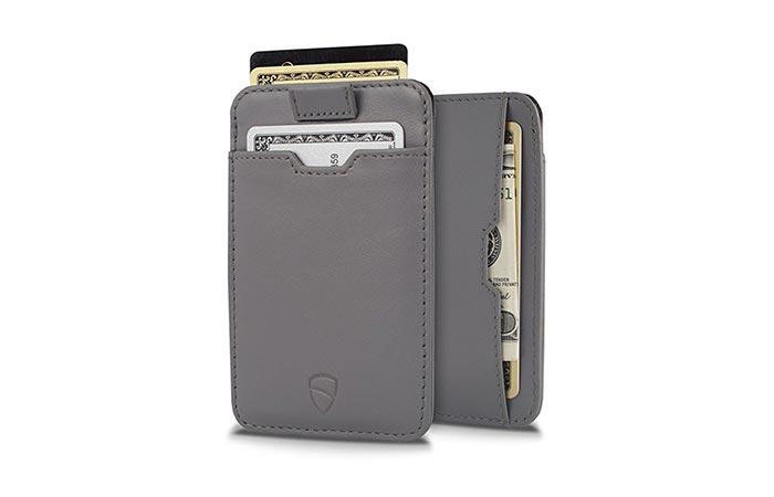 Полезное и стильное портмоне Vaultskin Slim Wallet.