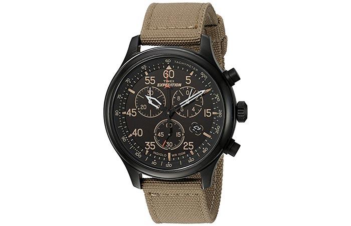 Полезный и стильный хронограф Timex Expedition.