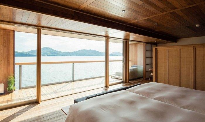 Шикарный вид из спальни отеля «Guntu».