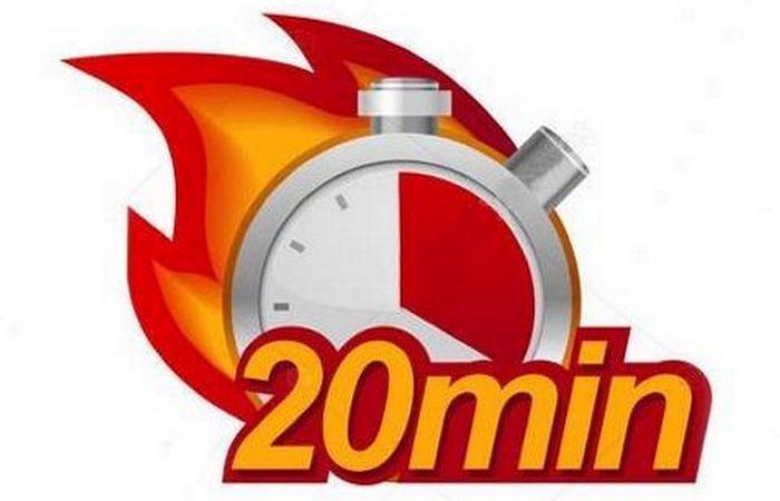 Правильная привычка: «Правило 20 минут».