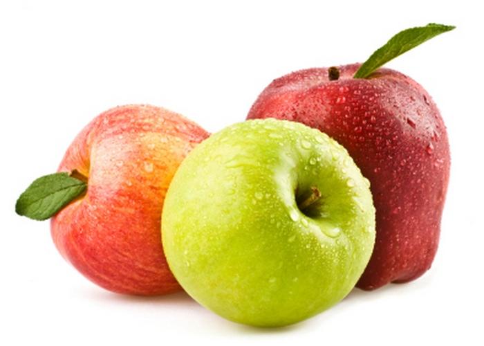 Яблоки - это полезно и правильно.
