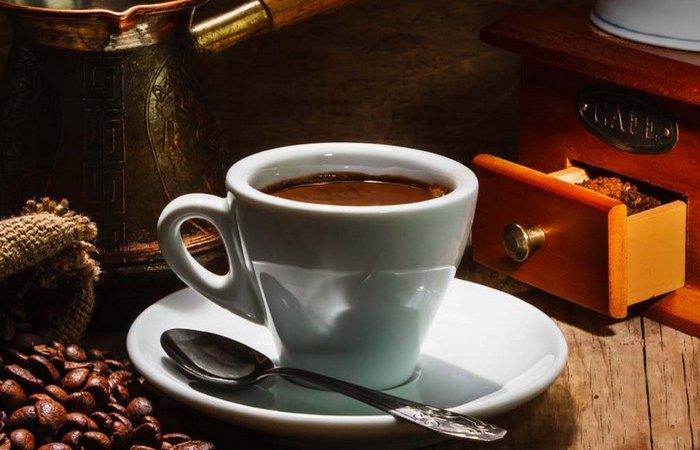 Полезная еда: кофе.