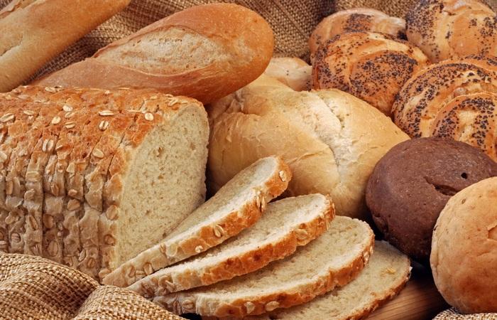 Полезная еда: хлеб.