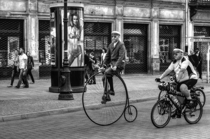 От опасного велосипеда к безопасному