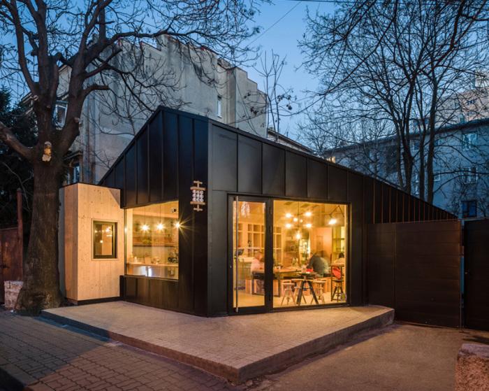 Urban Cabin - почти идеальный городской дом.