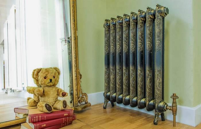 Радиатор отопления - полноправная часть интерьера.
