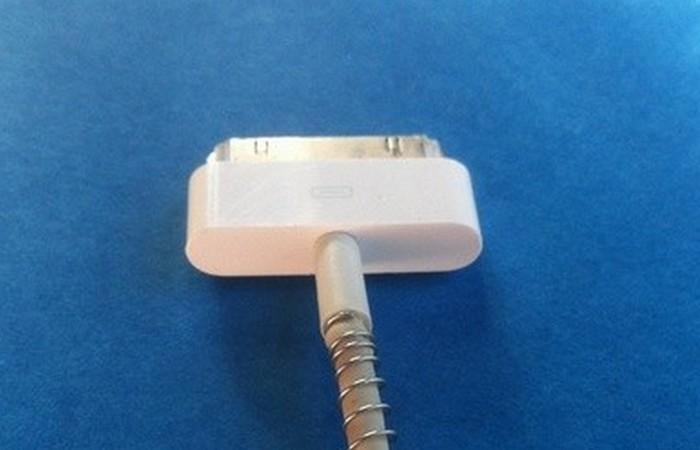 Пружинное усиление кабеля.