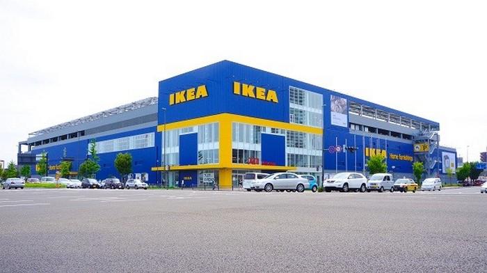 Самый большой магазин IKEA.