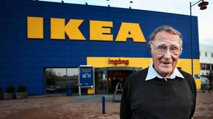 Ингвар Кампрад - основатель IKEA.