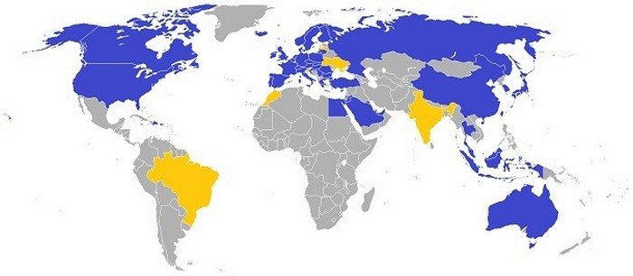Империя IKEA на карте мира.