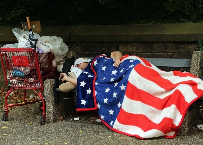 Калифорнийский бездомный.