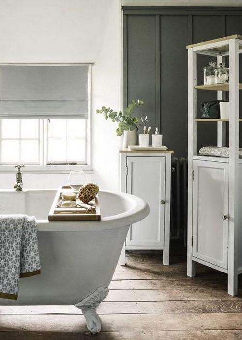 Хорошая идея для дома: места для хранения в ванной.