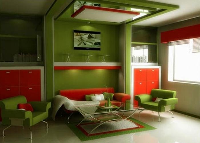 Хорошая идея для дома: гармония цвета и света.