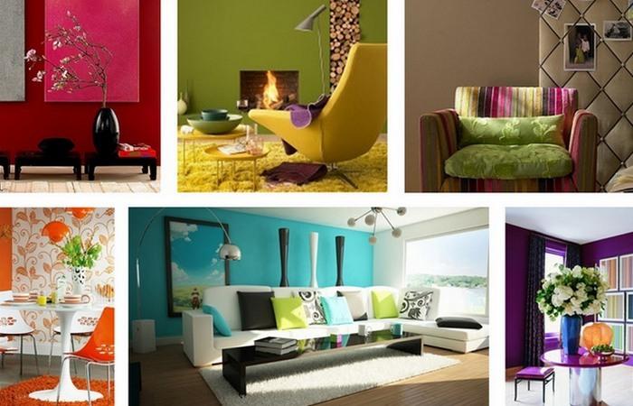 Удачные цветовые решения интерьера.