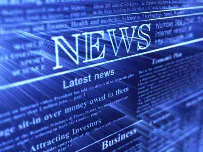 Новости в Интернете.