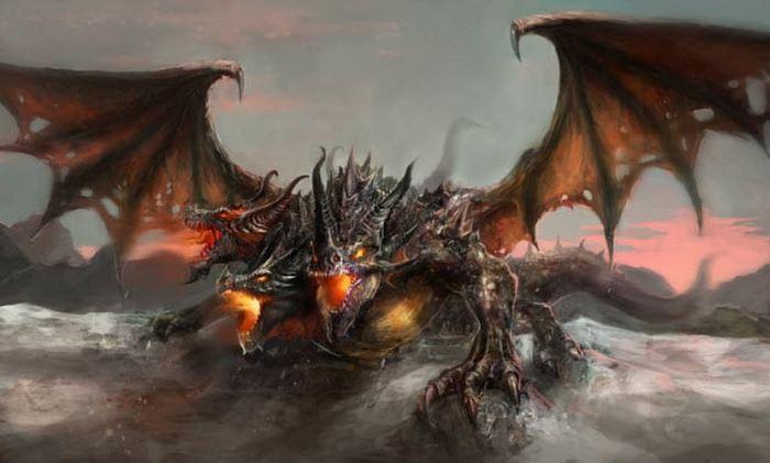 Драконы из пустыни Иседонии.