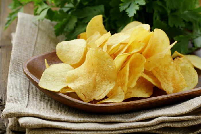 Картофельные чипсы - каприз привередливого клиента.