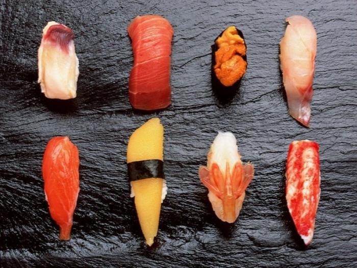 «Аутентичные» суши.