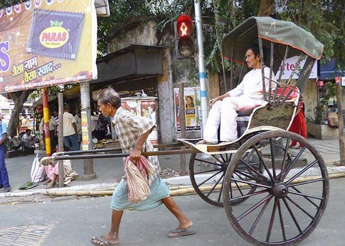Японское изобретение: рикша.