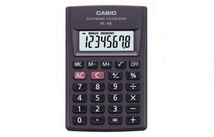 Японское изобретение: карманный калькулятор.