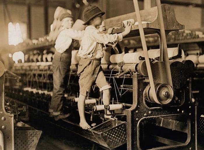 Детский труд - явление обычное.